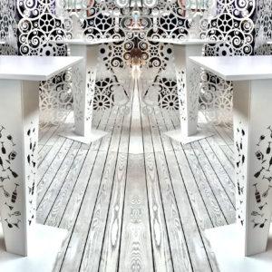 Sun bar table