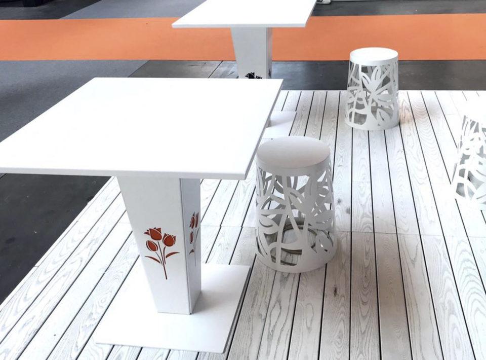 Sunny bar table