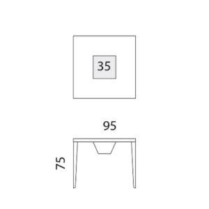 Cenetta tavolo, scheda