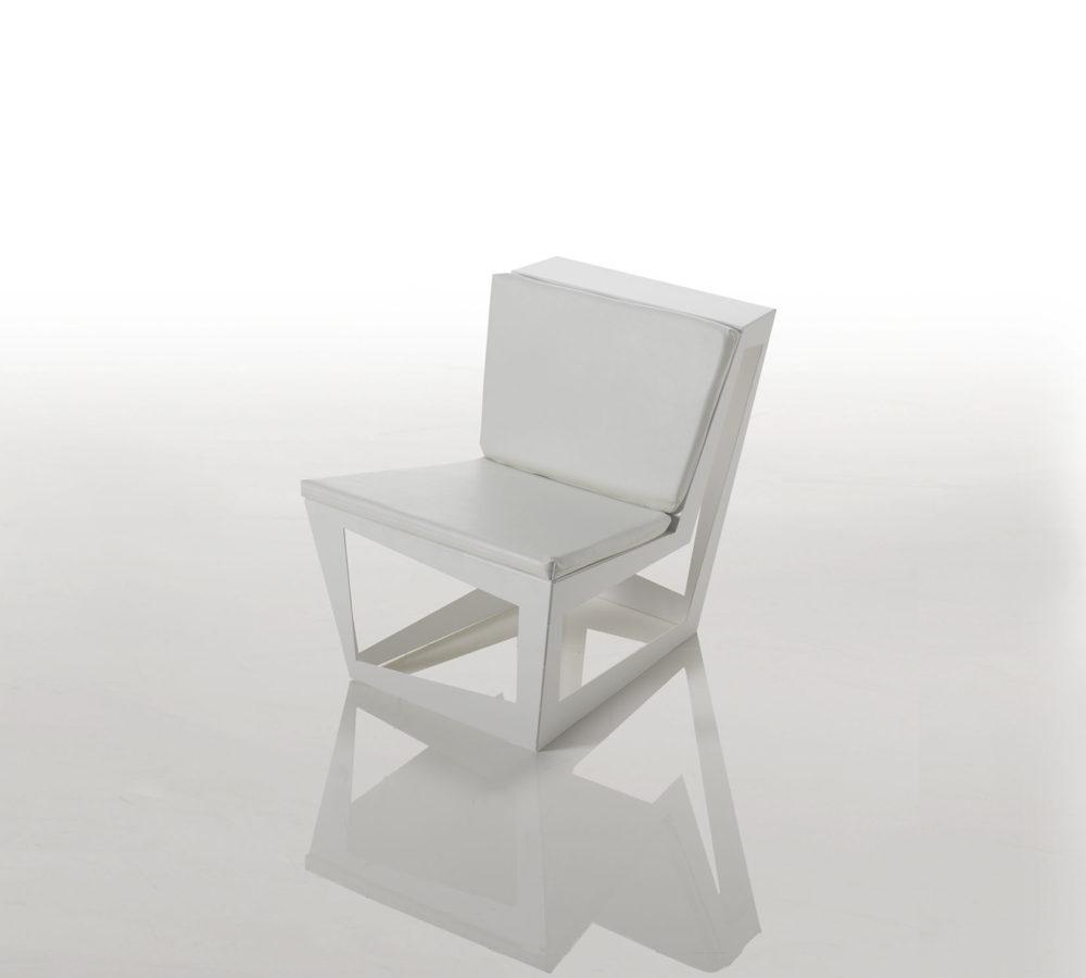 Elb sedia in alluminio