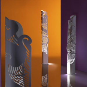 Waves totem luminoso