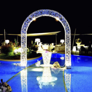 Aura arco wedding