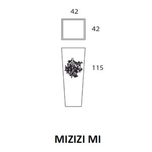 Mizizi - MI Fioriera traforata