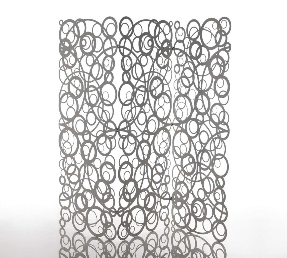 Naitto Screen paravento in alluminio