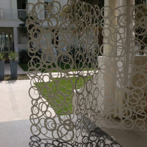 Naitto wall paravento alluminio